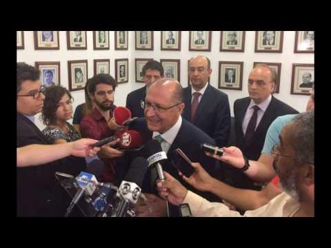 Sem aumento na saúde nos próximos 20 anos, 'conta não fecha', diz Alckmin