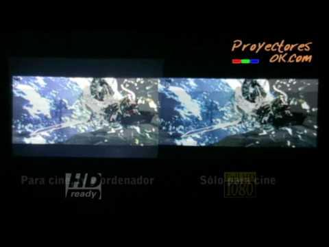 Proyector FullHD vs Proyector HD (Alta definición) - ProyectoresOK