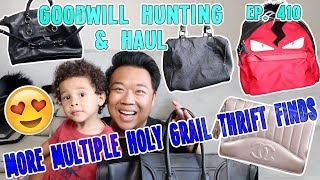 MORE MULTIPLE HOLY GRAIL THRIFT FINDS | GOODWILL HUNTING & HAUL EP. 410