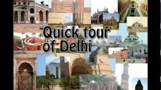 preview picture of video 'Quick Tour Of Delhi'