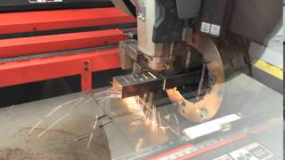 AST 4-Axis Laser Cutting of Rectangular Tube
