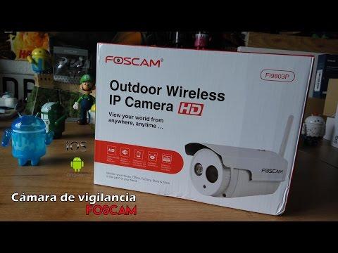 Foscam FI9803P - La cámara IP de vigilancia para exterior con IP66 [Android e IOS]