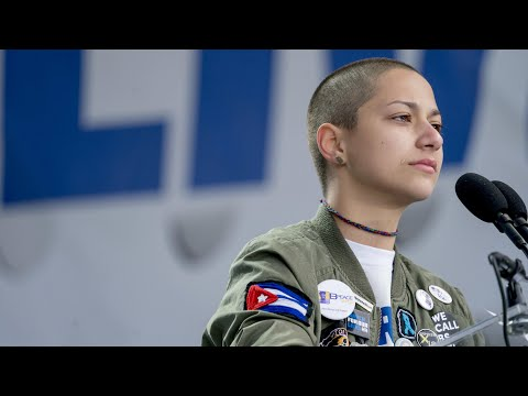 Emma Gonzalez's powerful March for Our Lives speech in full