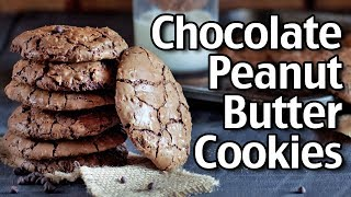 How To Make Chocolate Peanut Butter Cookies - Easy Chocolate Peanut Butter Cookies Recipe!