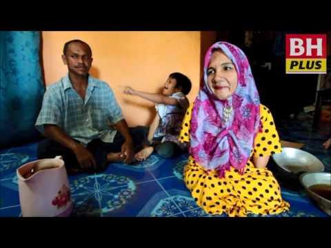 Video Wanita cacat kaki, tangan tabah besarkan 3 anak