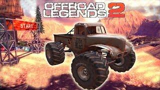 Машинки мультфильмы для мальчиков супер крутые монстр трак игры для детей Offroad Legends 2