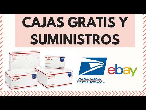 Como Obtener Cajas Gratis en Ebay  |  Trabajos por Internet