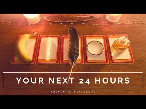 Your Next 24 Hours - Pick A Reading - Tarot & Chill