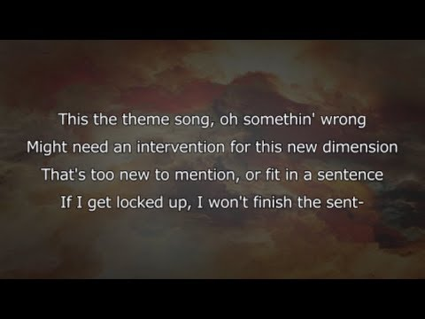 Kids See Ghosts - 4th Dimension (Lyrics)