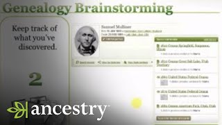 Genealogy Brainstorming: Im Stuck. Now What? | Ancestry