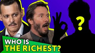 The 8 Richest Actors in Hollywood Revealed! |⭐ OSSA Lists