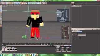 Как сделать красивую minecraft анимацию в cinema 4D