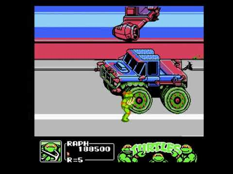 Черепашки Ниндзя 3: Проект Манхеттен прохождение Dendy/NES часть 1 [017]