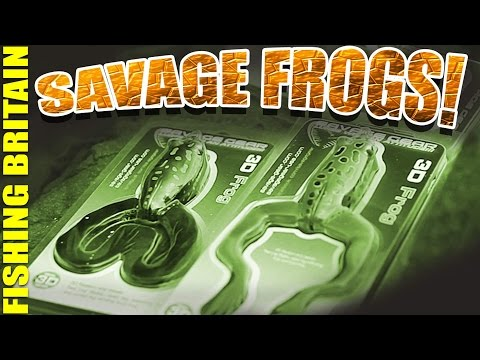 Savage Frogs – Fishing Britain Gear Guide