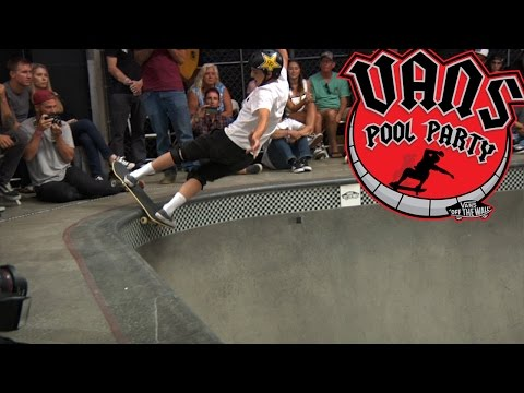 Vans Pool Party 2017: Cory Juneau's 2nd Place Run