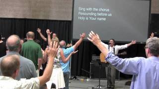 Exalted (Chris Tomlin) covered by Greg Sanders, Vintage City Church