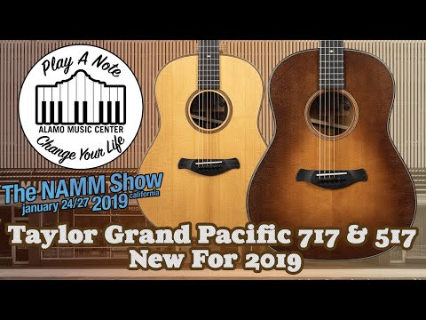 Taylor Grand Pacific 517 & 717 –  New For 2019 – Acoustic Guitar Review and Comparison