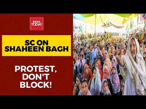शाहीन बाग एंटी-सीएए ने स्वीकार नहीं किया विरोध, सुप्रीम कोर्ट ने कहा