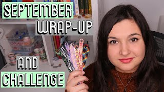SEPTEMBER WRAP-UP + CHALLENGE || Friendship Bracelets