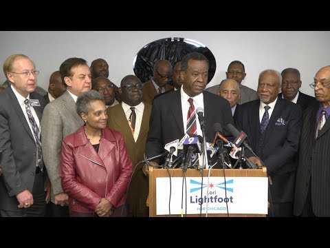 Dr. Willie Wilson Endorses Lori Lightfoot