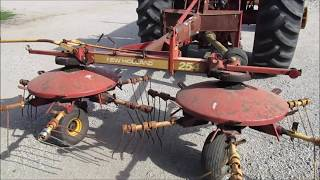 new holland 254 rake tedder operators manual - मुफ्त