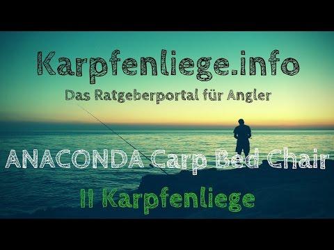 ANACONDA Carp Bed Chair II Karpfenliege | Tipps und Preisvergleich