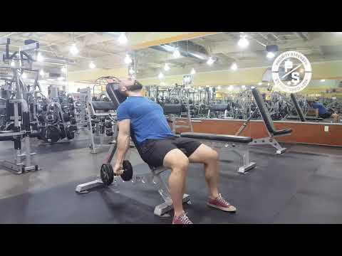 Incline Dumbbell Zottoman Curl