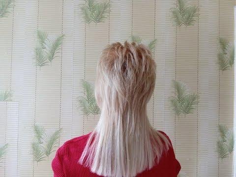 Креативная рваная стрижка на длинные волосы