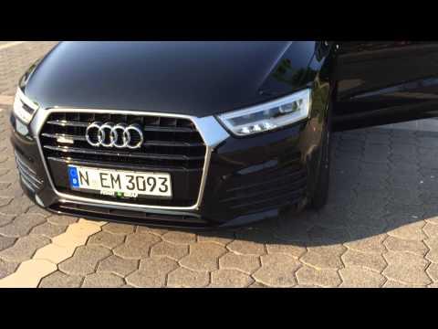 Audi Q3 2015 dynamisches Blinklicht Blinker 2,0 TDI 184PS TDI Quattro LED