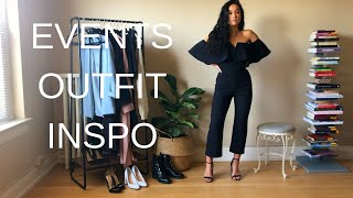 EVENT OUTFIT INSPIRATION || Dress It Up