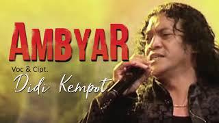 Didi Kempot   Ambyar [OFFICIAL]