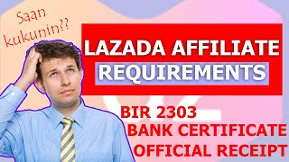 LAZADA AFFILIATE REQUIREMENTS 2020