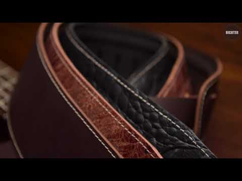 Richter Guitar Strap / Bass Strap Beaver's Tail