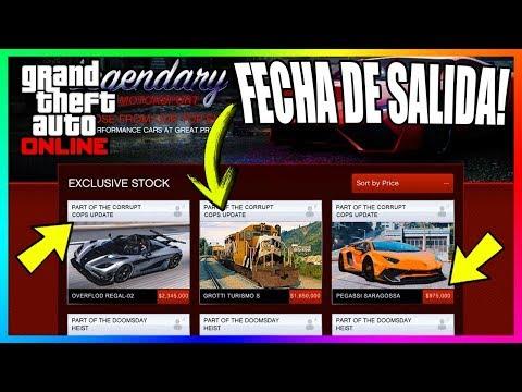 ESTA ES LA FECHA DE SALIDA DEL PRÓXIMO DLC DE GTA Y TODO SU CONTENIDO! GTA 5 ONLINE