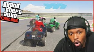 The Final Turn! You Won't Believe This Ending!  - GTA 5 Online Races