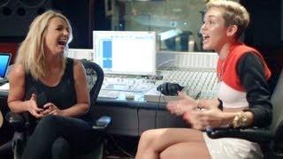 MILEY CYRUS & BRITNEY SPEARS TALK VMAS PERFORMANCE- MTV 'MILEY: THE MOVEMENT' TRAILER!