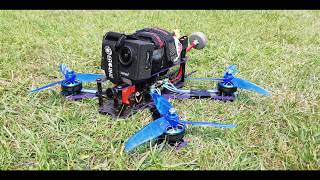 My first FPV drone build фото