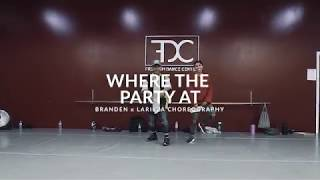 Jagged Edge Ft. Nelly   Where The Party At? | Branden + Larieza Choreography | FDC