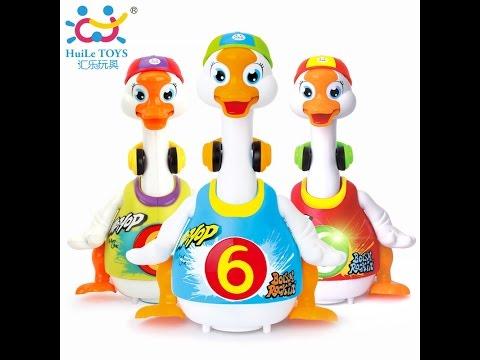 אווז מתנועע עם אורות וצלילים - Swing Goose With Music LIight