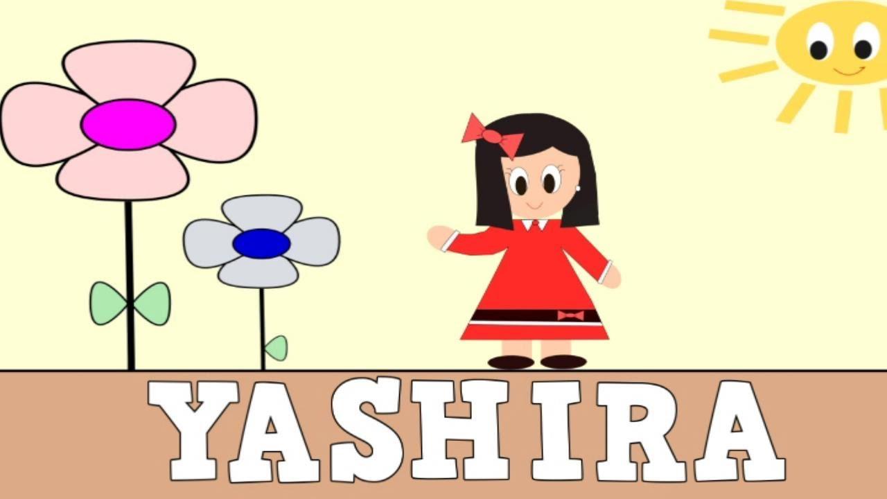 Aprender a Leer y Escribir YASHIRA - Vídeos educativos para Niñosy Bebés - Paty y Poty
