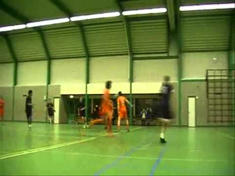 Zaalvoetbal - AFC 2002 tegen Futsal Gennep