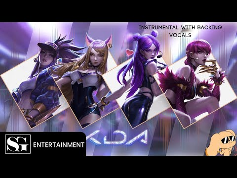 K/DA - POP/STARS (Instrumental With Backing Vocals)  | 심장골든