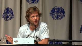 Dragon*Con 2012 Day 2 - Jamie Bamber Discusses Keeping Lee Adama Interesting And Collaborating