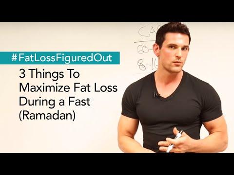 3 Things To Maximize Fat Loss During Ramadan