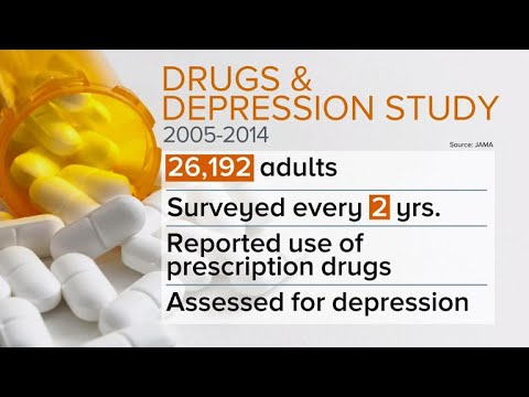 200+ common medications may cause depression, study finds