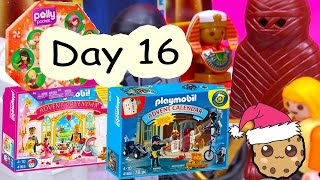 Polly Pocket, Playmobil Holiday Christmas Advent Calendar Day 16 Toy Surprise Opening Video