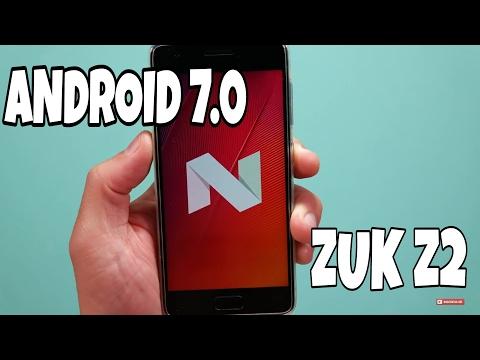 ZUK Z2 recebe atualização via OTA para o Android 7.0 Nougat