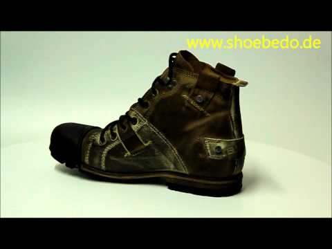 detailing d8b3f 73bf0 Yellow cab Industrial (Y15012) dark brown