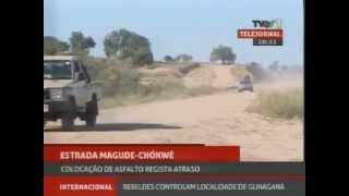 Obras Da Estrada Magude Chókwè Estão Atrasadas