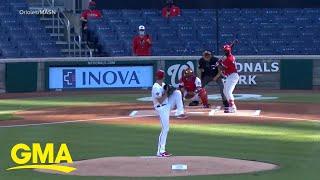 Major League Baseball Season Kicks Off With No Fans L GMA